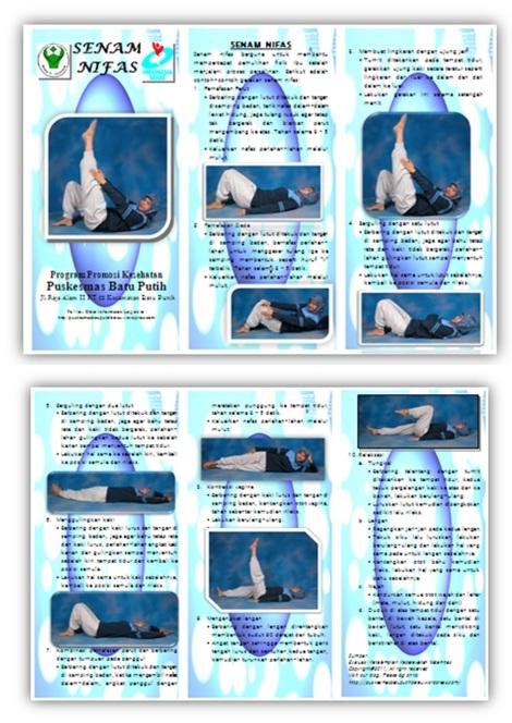 Inovasi Poster, Leaflet dan Plakat Promkes PKM Batu Putih Tahun 2011