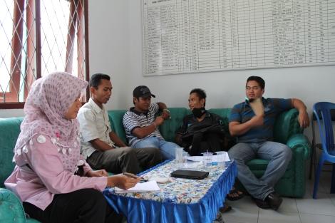 Rapat Minilokakarya Puskesmas Batu Putih